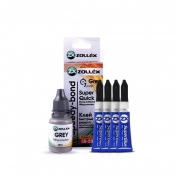 ZOLLEX Speedy bond adhesive grey