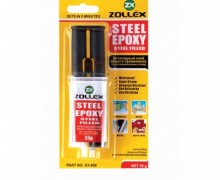 ZOLLEX adhesive EPOXY black - steel