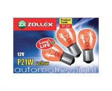 ZOLLEX Bulb P21W 12 yellow