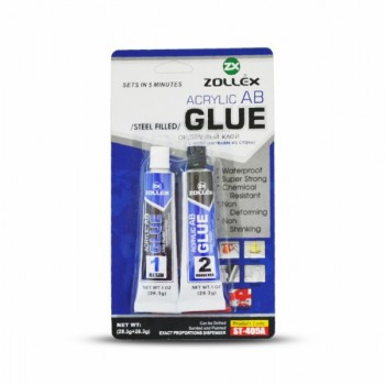 ZOLLEX  acrylic glue steel-filled