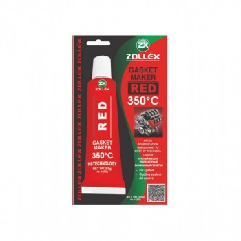 ZOLLEX Gasket maker - red